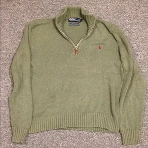 Polo Ralph Lauren men's 1/4 zip (Medium)